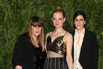 Guinevere Van Seenus Arrivals at the Fashion Fund Finalists Celebration