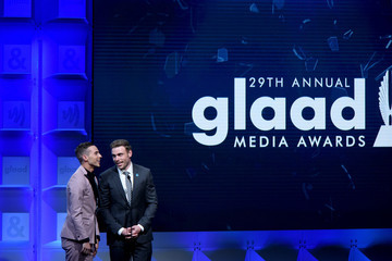 Gus Kenworthy 29th Annual GLAAD Media Awards Los Angeles - Dinner and Show