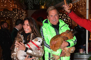 Dieter Bohlen and his partner Carina Walz during the Gut Aiderbichl Christmas Market opening on November 12, 2019 in Henndorf am Wallersee, Austria.