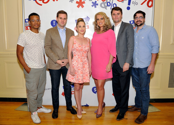 Politicon 2017 - Day 2 [event,red,youth,community,management,interior design,house,team,award,family,politicon,l-r,pasadena convention center,california,jordan carlos,scottie nell hughes,ana kasparian,guy benson,trae crowder,charlie kirk]