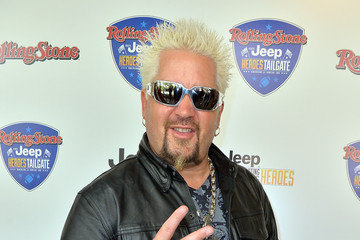 Guy Fieri Rolling Stone Hosted Jeep Heroes Tailgate