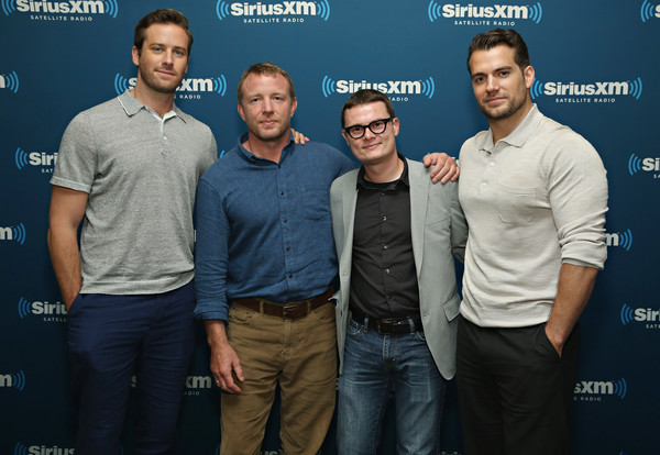 SiriusXM's Town Hall With Guy Ritchie, Henry Cavill, Armie Hammer and Lionel Wigram