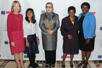 Gwen Ifill Arrivals at the Courage in Journalism Awards