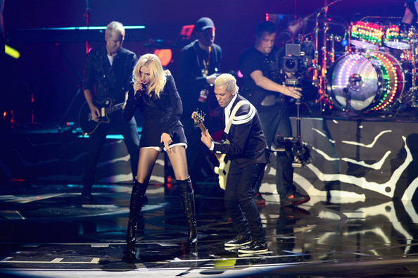 Gwen Stefani Gwen Stefani of No Doubt performs live onstage at the MTV EMA's 2012 at Festhalle Frankfurt on November 11, 2012 in Frankfurt am Main, Germany.