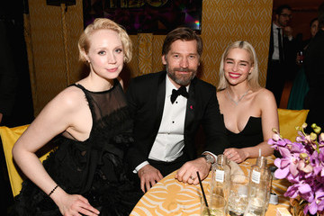 Gwendoline Christie HBO's Official Golden Globe Awards After Party - Inside