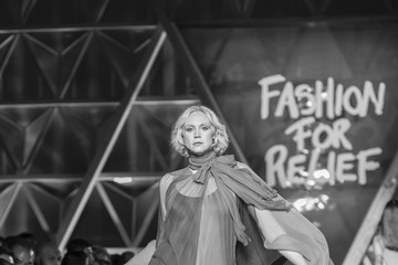 Gwendoline Christie Fashion for Relief - Runway - The 70th Annual Cannes Film Festival