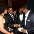 Michael K Williams and Sean Combs