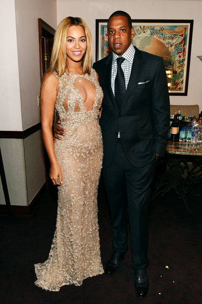 "Beyonce and Jay-Z attend the HBO Documentary Film ""Beyonce: Life Is But A Dream"" New York Premiere at the Ziegfeld Theater on February 12, 2013 in New York City."