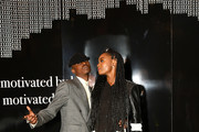 """Actors Ashton Sanders and Kiki Layne attend the afterparty for HBO's """"Native Son"""" screening at Guggenheim Museum on April 1, 2019 in New York City."""