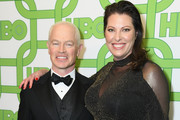 Neal McDonough (L) and Ruve McDonough attend HBO's Official Golden Globe Awards After Party at Circa 55 Restaurant on January 6, 2019 in Los Angeles, California.