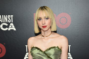 "Zoe Kazan attends HBO's ""The Plot Against America"" premiere at Florence Gould Hall on March 04, 2020 in New York City."