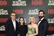 "John Turturro, Winona Ryder, Zoe Kazan and Morgan Spector attend HBO's ""The Plot Against America"" premiere at Florence Gould Hall on March 04, 2020 in New York City."