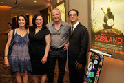 "(L-R)  Actress Debra Winger, producer Trish Adlesic, actor Aidan Quinn, and director Josh Fox attend The HBO Special Screening Of ""Gasland Part II"" at HBO Theater on June 25, 2013 in New York City."