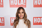 Lilliana Vazquez attends the HOLA! USA launch hosted by Alec & Hilaria Baldwin at Porcelanosa on September 29, 2016 in New York City.