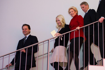 Petra Roth HRH Crown Princess Mette-Marit Of Norway Opens Edvard Munch Exhibition