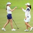 Paula Creamer and Inbee Park Photos
