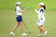 Paula Creamer and Inbee Park Photos Photo