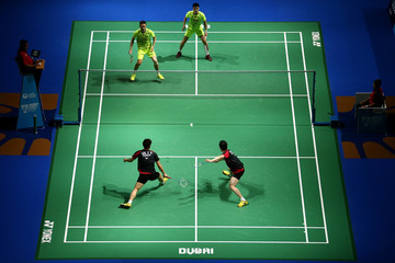 Haifeng Fu BWF Dubai World Superseries Finals - Day 1