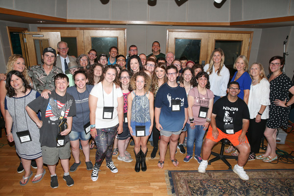 2019 ACM Lifting Lives Music Camp Recording Studio Day