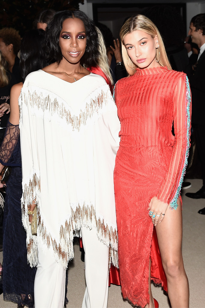 Kelly Rowland and Hailey
