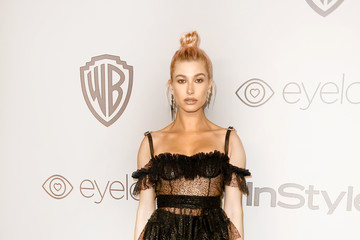 Hailey Baldwin Warner Bros. Pictures And InStyle Host 19th Annual Post-Golden Globes Party - Arrivals