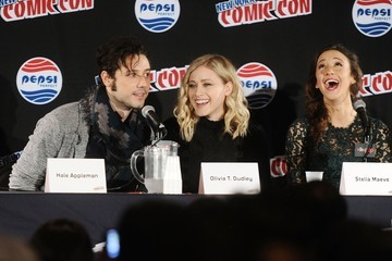 Hale Appleman Stella Maeve New York Comic-Con 2015 - Day 3