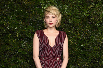 Haley Bennett Charles Finch And Chanel Pre-Oscar Awards Dinner At Madeo In Beverly Hills