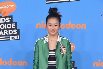 Haley Tju Nickelodeon's 2018 Kids' Choice Awards - Arrivals