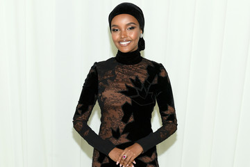 Halima Aden 28th Annual Elton John AIDS Foundation Academy Awards Viewing Party Sponsored By IMDb, Neuro Drinks And Walmart - Inside