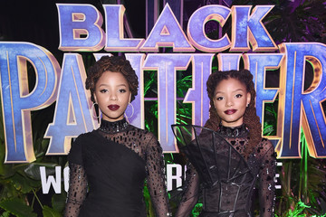 Halle Bailey The Los Angeles World Premiere of Marvel Studios' 'Black Panther'