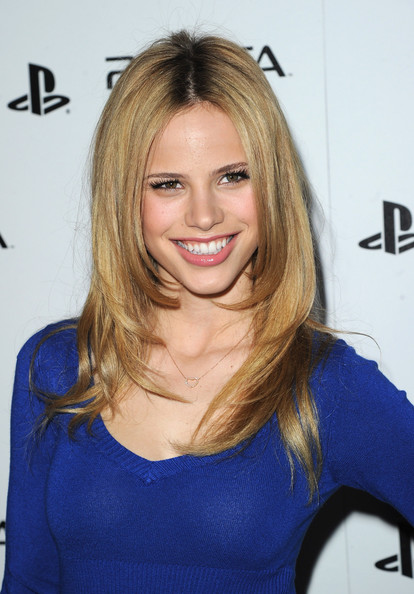 Halston Sage in Sony PlayStation Unveils The PS VITA