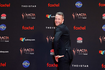 Hamish Blake Celebrities Attend the 2019 AACTA Awards at The Star