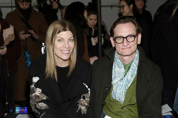 Hamish Bowles Virginia Smith Monse - Front Row - February 2020 - New York Fashion Week: The Shows