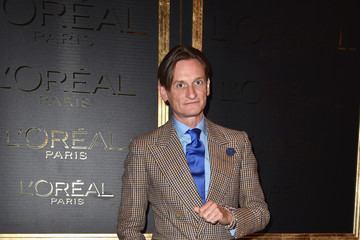 Hamish Bowles Gold Obsession Party - L'Oreal Paris : Photocall - Paris Fashion Week Womenswear Spring/Summer 2017