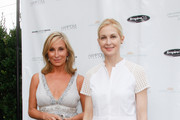(L-R) Sonja Morgan and Kelly Rutherford attend Hamptons Magazine Celebration of The Children's Justice Campaign Of Joan & George Hornig on August 16, 2014 in Water Mill, New York.