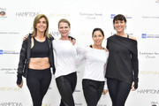 Gina Bradley, Elisabeth Halfpapp, Leslie Pearlman, and Sue Molnar attend the Hamptons Magazine Memorial Day Celebration With Cover Star Hilary Swank Presented by Bespoke Real Estate on May 27, 2017 in Southampton, New York.