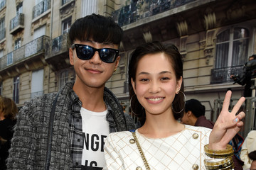Han Huo Huo Front Row at Chanel