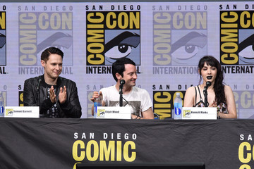 Hannah Marks Comic-Con International 2017 - 'Dirk Gently's Holistic Detective Agency' BBC America Official Panel
