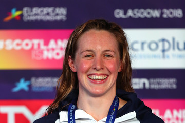 Hannah Miley Swimming - European Championships Glasgow 2018: Day Two