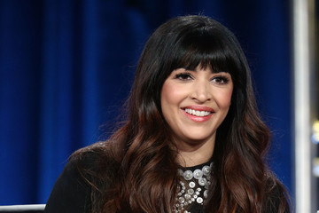 Hannah Simone 2018 Winter TCA Tour - Day 1