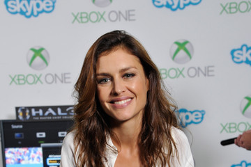 Hannah Ware Microsoft VIP Lounge at Comic-Con