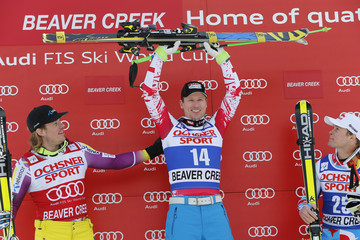 Hannes Reichelt Kjetil Jansrud Audi FIS Alpine Ski World Cup - Men's Super Giant Slalom