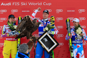 Hannes Reichelt Kjetil Jansrud 2014 Audi Birds of Prey - Day 5