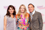 Producer Gesa Toennesen, actress and TV presenter Barbara Schoeneberger and producer Nico Hoffmann attend the 'Hanni&Nanni 2' World Premiere at Mathaeser cinema on May 13, 2012 in Munich, Germany.