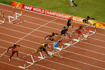 Hansle Parchment 15th IAAF World Athletics Championships Beijing 2015 - Day Seven