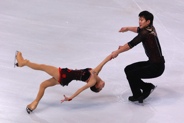 Hao Zhang ISU Grand Prix of Figure Skating Trophee Eric Bompard - Day One