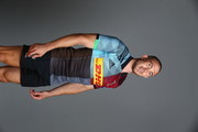 Mike Brown of Harlequins poses for a portrait during the Harlequins squad photo call for the 2018-19 Gallagher Premiership Rugby season on August 13, 2018 in Guildford, England.