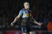 Mike Brown of Harlequins during the Gallagher Premiership Rugby match between Harlequins and Saracens at Twickenham Stoop on October 6, 2018 in London, United Kingdom.