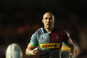 Mike Brown of Harlequins looks on during the Gallagher Premiership Rugby match between Harlequins and Saracens at Twickenham Stoop on October 6, 2018 in London, United Kingdom.