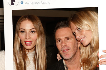 Harley Viera-Newton Poppy Delevingne French Connection Collection Preview Party